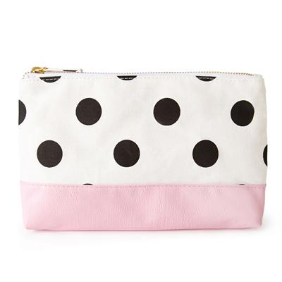 8d756a5b3e Polka Dot Makeup Case Pink
